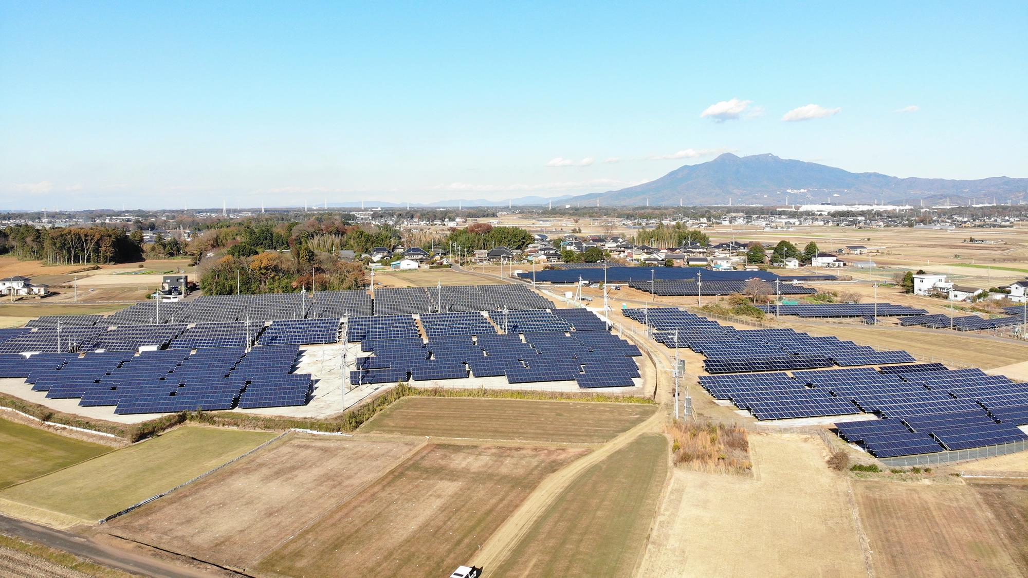 低圧太陽光 21区画 地上設置